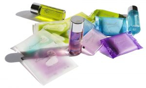Applying skin care products