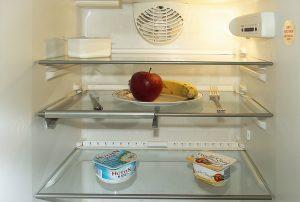 Moisturiser in the fridge