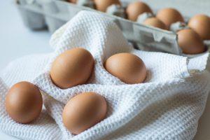 Eggs for Sagging Eyelids