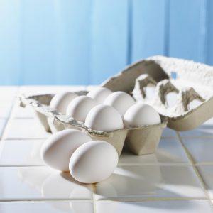 Egg white face mask