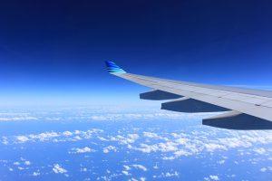 In flight skin care