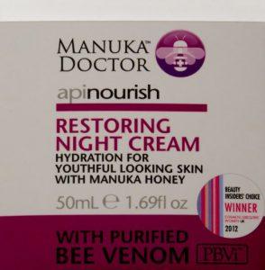 manuka doctor restoring night cream