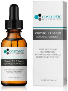 cosmetic skin solutions vitamin c + e serum