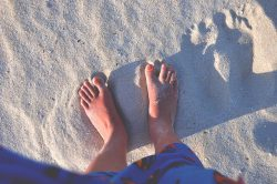 How to get rid of dry skin on the feet