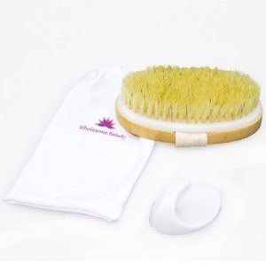 Wholesome beauty dry body brush