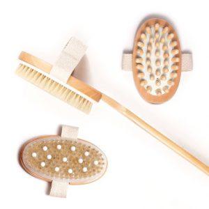 Purebello dry body brush