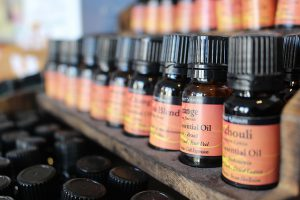 Benzyl alcohol in essential oils