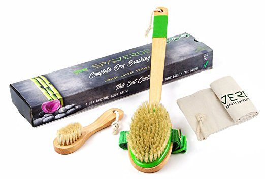Spaverde dry body brush