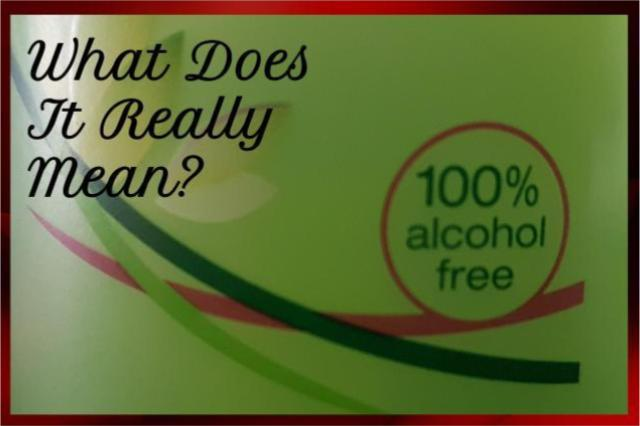 What is alcohol free skin care