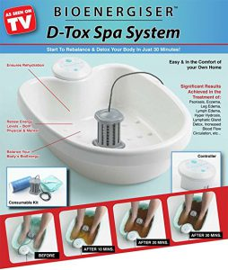Bio energiser d tox spa system