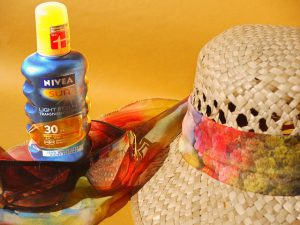 Zinc oxide in sunscreen
