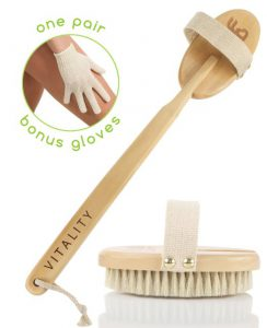 Zen me dry body brush