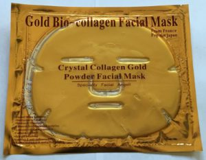 Crystal collagen gold face mask