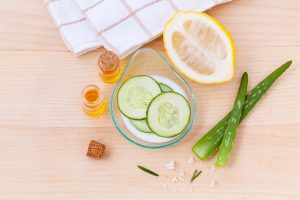 Homemade skin care ingredients