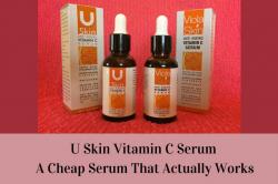 U skin vitamin C serum