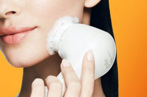 Clarisonic foaming ability