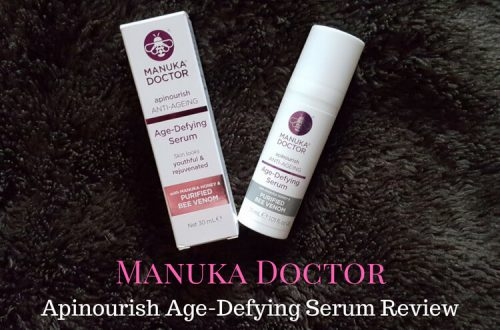 Manuka Doctor Apinourish Age Defying Serum Review