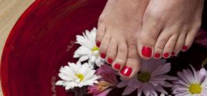 Dry Feet Treatment